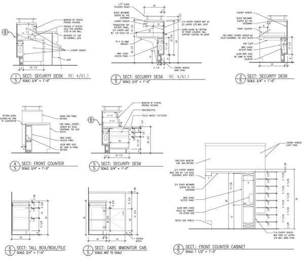 Caprock Design Featuring Concise Shop Drawings And